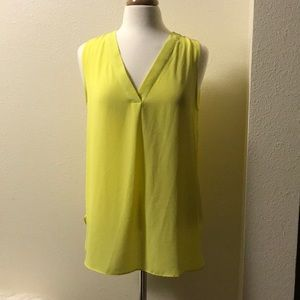 Violet and Claire size large top lime green